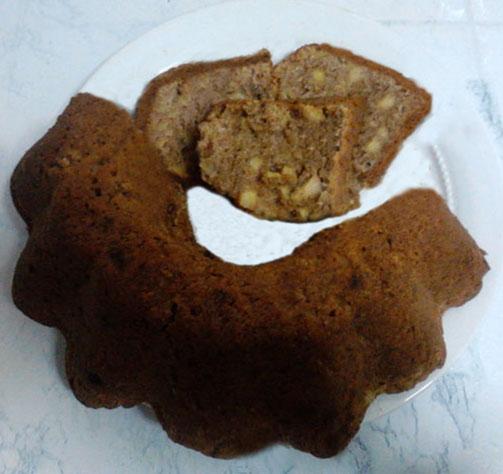 Elmalı Üzümlü Tarçınlı Kek
