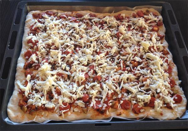 Karışık pizza