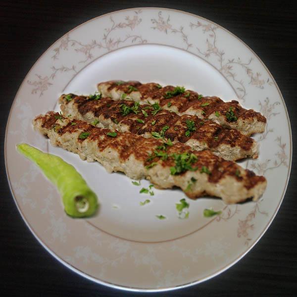 Diyet Balık Kebabı